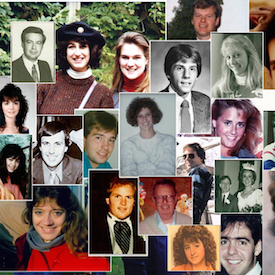 Just a few of the people who died on Pan Am 103.