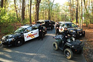 Suffolk County Sheriffs plan to respond to complaints in the Central Pine Barrens