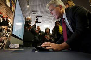 County Executive Steve Bellone was the first person to sign up for the marathon when registration opened in February. Mr. Bellone has lost 69 pounds since he pledged to live a healthier lifestyle in 2013.