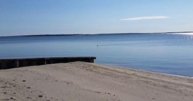 Spring calm, March 1, Veterans Beach