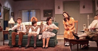 """The cast of HTC's new production of """"Lost in Yonkers"""" 