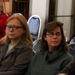 Members of Southold's tick committee at Tuesday's work session.