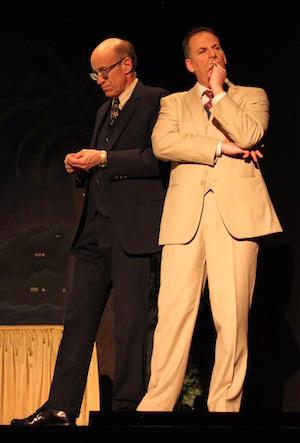 Manning Dandridge and Jack Seabury plot a scheme