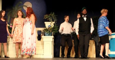 """The North Fork Community Theatre's production of """"Dirty Rotten Scoundrels"""" opens tonight. More information is below."""
