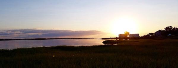Flanders Bay, Wednesday morning