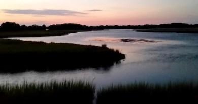 West Creek, Sunset