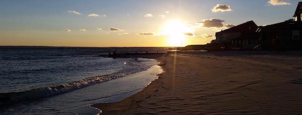 Sunday, sunset on the Peconic Bay