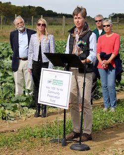 Sagaponack farmer Jennifer Pike.
