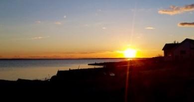 Monday Sunset on the Peconic Bay.