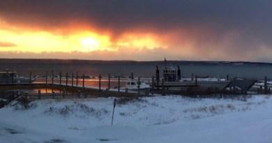Daybreak on Great Peconic | George Cork Maul photo