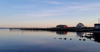 New Suffolk sunset