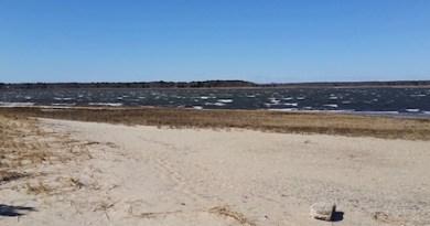 Thursday on Flanders Bay.