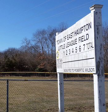 East Hampton's Little League fields on Pantigo Place could be the site of the town's new satellite emergency room
