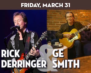 Rick Derringer & G.E. Smith at The Suffolk Theater