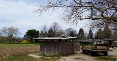 The Pike Farm awaits the growing season, Sagaponack.