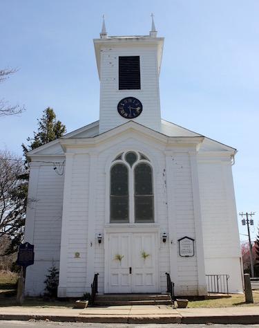 The Orient Methodist Church.