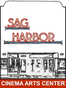 The logo for the new Sag Harbor Cinema Arts Center.