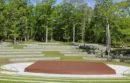 The amphitheater at Good Ground Park in Hampton Bays.