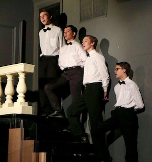 The boy's chorus. | Rory MacNish photo for NFCT