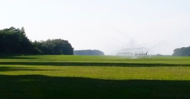 Irrigation season.