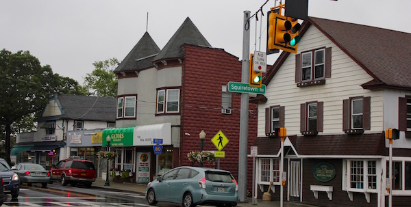 People don't often notice the architectural variety on Main Street in Hampton Bays, but it does add character to the hamlet.