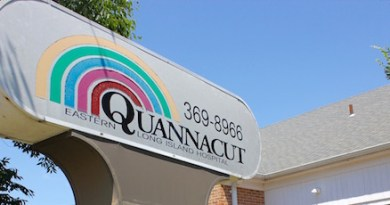 At Quannacut's current outpatient facility on Harrison Avenue in Riverhead.
