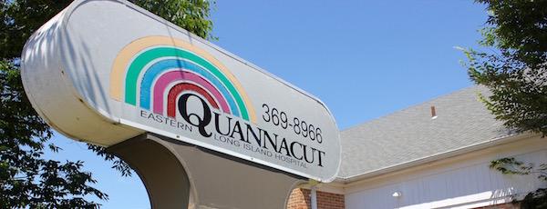 At Quannacut's current outpatient facility on Harrison Avenue in Riverhead.