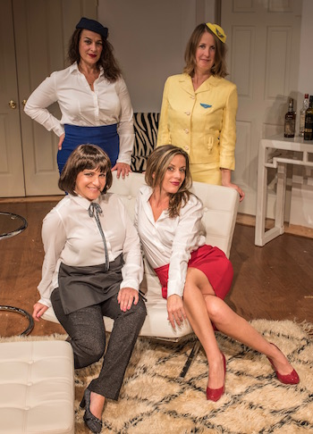 The ladies of Boeing Boeing | Dane DuPuis photo