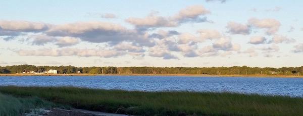 October light, Flanders Bay