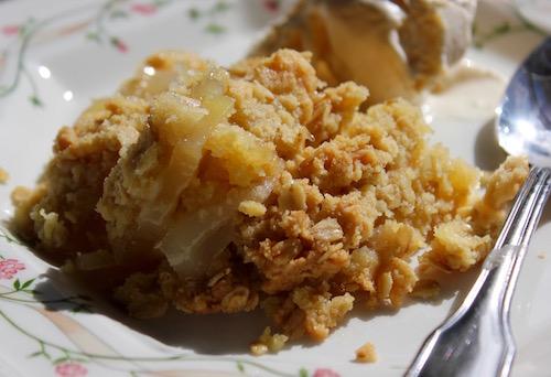 North Fork Apple Crisp