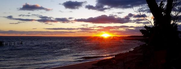 Last light, New Suffolk