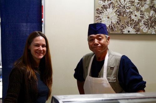 Stacey Krumenacker and Sushi Chef Aki Kon of Stirling Sake shared their thoughts on Japanese New Year traditions.