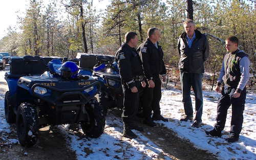 Patrolling the Pine Barrens | East End Beacon