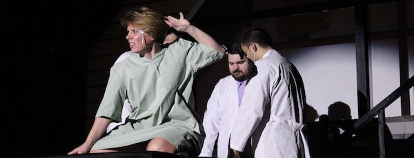 """Kelli Baumann as Diana in NFCT's new production of """"Next to Normal"""""""