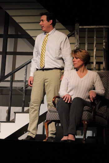 """James Stevens and Kelli Baumann in NFCT's production of """"Next to Normal"""""""