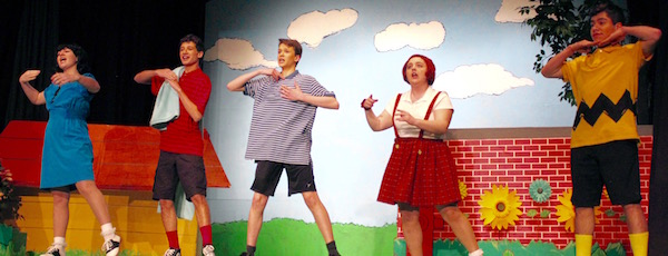 """The cast of NFCT's """"You're a Good Man, Charlie Brown."""""""
