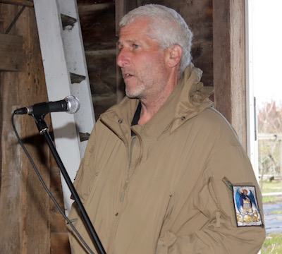 Biodynamic farmer Stephen Storch discussed the agricultural nature/nurture debate, materialism and the Love of Dandelion