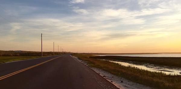 Dune Road Sunset, Hampton Bays