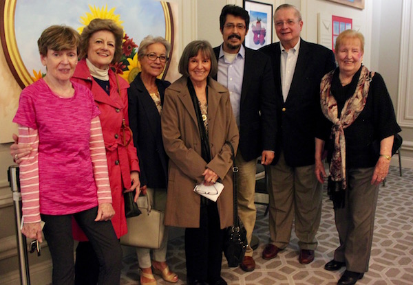Pat Masterson at a recent Project Genesis meeting. All five women had gone to Israel this winter.