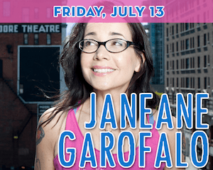 Comedian Janeane Garofalo at The Suffolk Theater