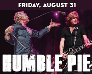 Humble Pie performs at The Suffolk Theater
