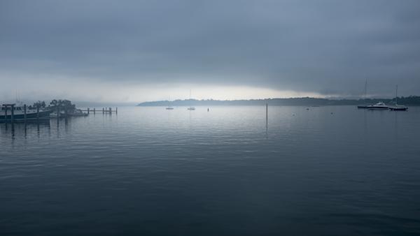 Thomas Halaczinsky's photograph of Fishers Island in the fog.