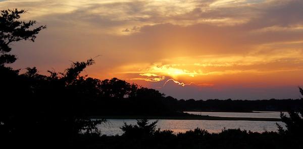Louse Point Sunset