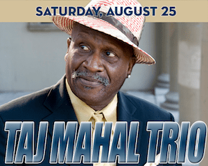 Taj Mahal Trio performs at The Suffolk Theater