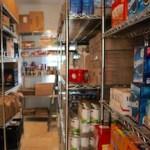 Inside the Springs Food Pantry.