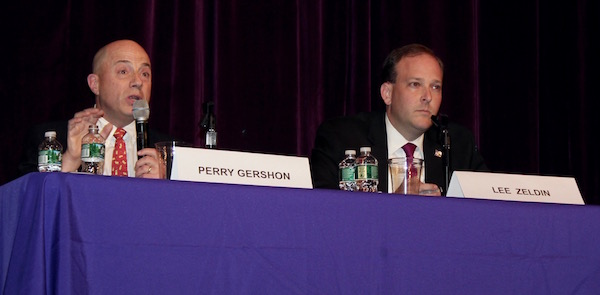 Perry Gershon and Lee Zeldin