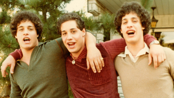 """Three Identical Strangers"" will be shown on Sunday at 1 p.m."