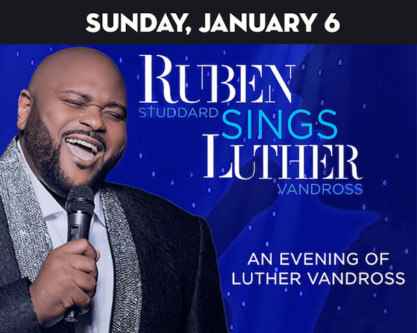 Ruben Studdard sings Luther Vandross at The Suffolk Theater