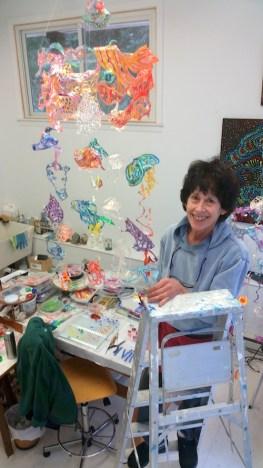 Artist Ruby Jackson