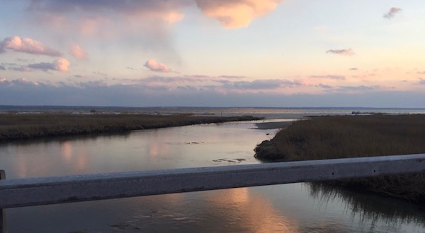 From the Downs Creek Bridge, Cutchogue